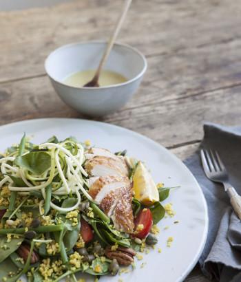 Sla - Salade van bladspinazie