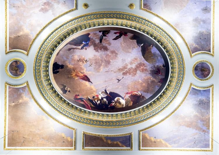 Plafond stijlkamer Stadsssalon