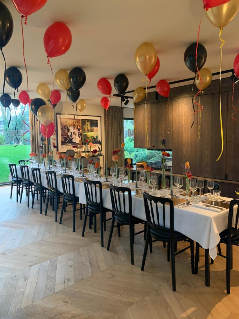 Private dining catering Bloemendaal